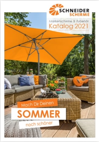 Katalog Schneider Markenschirme und Zubehör