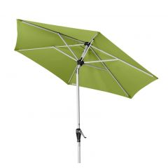 Sonnenschirm ACTIVE Auto Tilt 210 cm Fresh Green - geknickt