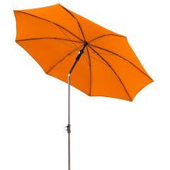 Doppler Sonnenschirm Gastro Waterproof 180 cm Orange, geknickt