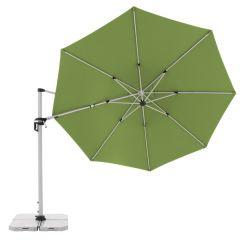 Doppler Pendelschirm ACTIVE 370 cm Fresh Green, vertikal geneigt 4