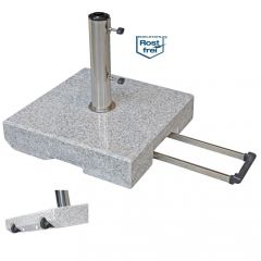 Doppler Trolley-Granitsockel 70 kg