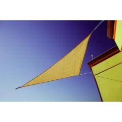 "Doppler Sonnensegel ""Darwin 360 x 360 x 360"" Dreieck, Farbe natur"