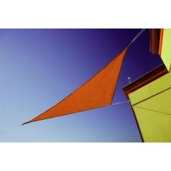 "Doppler Sonnensegel ""Darwin 360 x 360 x 360"" Dreieck, Farbe terracotta"