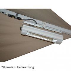 doppler Infrarot-Heizstrahler für Sonnenschirm Goliath