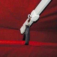 Befestigung für Regenrinne / Seitenbehang
