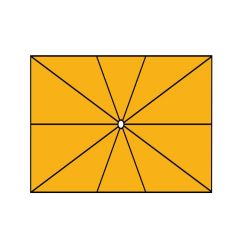 """Sonnenschirm """"ALBATROS"""" von May, rechteckig 3 x 4 m"""