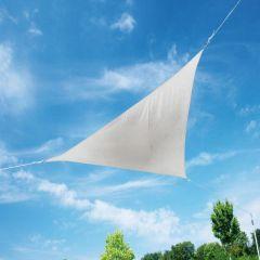 """Doppler Sonnensegel """"AluPro 500 x 500 x 500"""" Dreieck, weiss"""