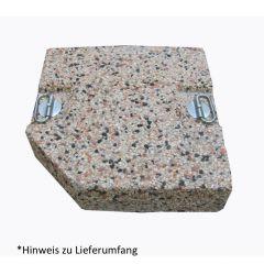 Deko-Kieselsteinplatte für Ampelschirm Gastro Pendel 3,3 x 3,2 m