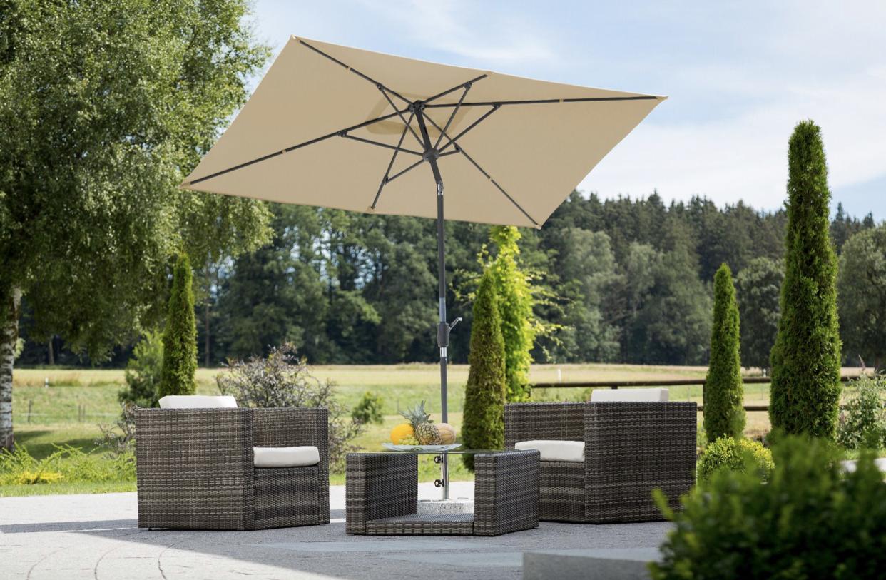 Sonnenschirme für den Garten oder die Terrasse